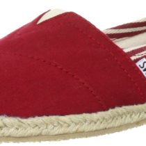 TOMS Classic Rope Slip-On_University Red