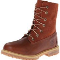 Timberland Teddy Fleece Fold-Down WP Ankle Boot Glazed Ginger