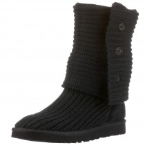 UGG Classic Cardy Boots_Black