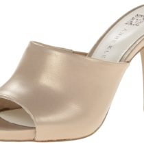 AK Anne Klein Objective Leather Dress Pump Natural