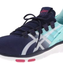 ASICS GEL-Fit Sana Cross-Training Shoe NavyWhiteHot Pink