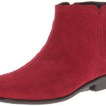 Aerosoles Duble Trouble Boot Dark Red Suede