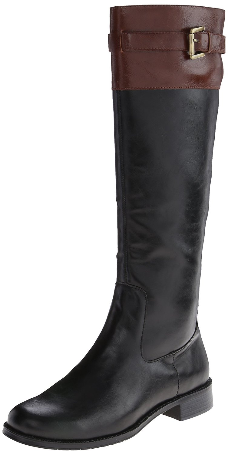 Product - Luichiny Womens Phone Booth Faux Leather Knee High Riding Boots. Product Image. Price $ 99 - $ Product Title. Luichiny Womens Phone Booth Faux Leather Knee High Riding Boots. Product - Lucky Top KATIEK Children Girl's Quilted Low Heel Buckles Riding Knee High Boots. Product Image.