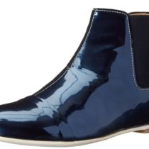 Aquatalia by Marvin K. Chime Boot Navy Blue Mirror