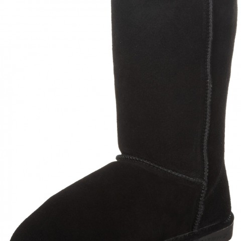 BEARPAW Emma 2014 10 Inch Shearling Boot Black
