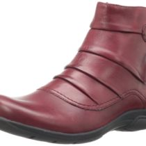 Clarks Christine Club Boot Bordeaux Leather