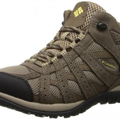 Columbia Redmond Mid Waterproof Trail Shoe Oxford TanSunlit