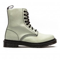 Dr. Martens Pascal Leather White  Black