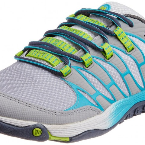 Merrell All Out Fuse Trail Running Shoe SleetLime