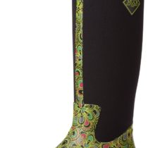 MuckBoots Arctic Adventure Boot Green Flower Print