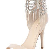 Nine West Anastia Sandal Panna Silver Leather