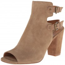 Nine West Breezie Suede Sandal Taupe