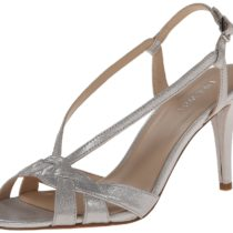 Nine West Itani Metallic Dress Sandal Silver