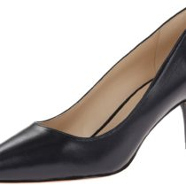 Nine West Margot Leather Dress Pump Navy
