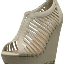 Steve Madden Wresse Wedge Sandal Bone