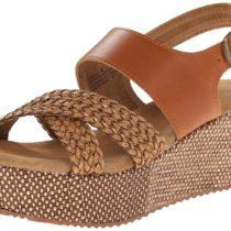 Very Volatile LIV Wedge Sandal Tan