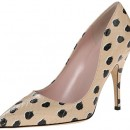 Kate Spade Licorice Panther Print Vintage Pump