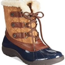 Anne-Klein-Gailla-Cold-Weather-Boots-Navybrown-Multi-11m-0
