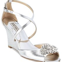 Badgley-Mischka-Women-Cabina-Embellished-Crisscross-Strap-Wedge-Silver-75-M-US-0