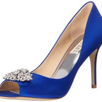 Badgley-Mischka-Womens-Accent-Embellished-Satin-Pump-Peep-Toe-Heel-0