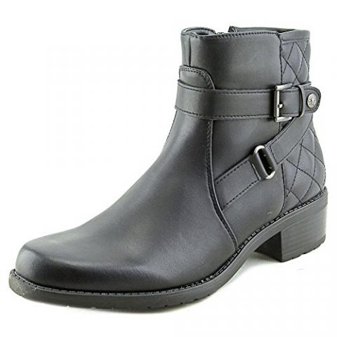 Anne-Klein-Lynzee-Round-Toe-Synthetic-Ankle-Boot-0