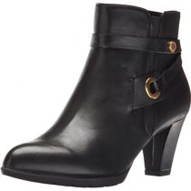 Anne-Klein-Womens-Chelsey-Leather-Western-Boot-0