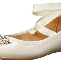 Badgley-Mischka-Womens-Karter-Ballet-Flat-Ivory-75-Medium-US-0