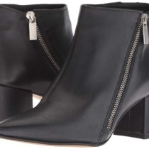 Kenneth Cole Hayes Diagonal Side Zip Ankle Bootie Boot Black 1