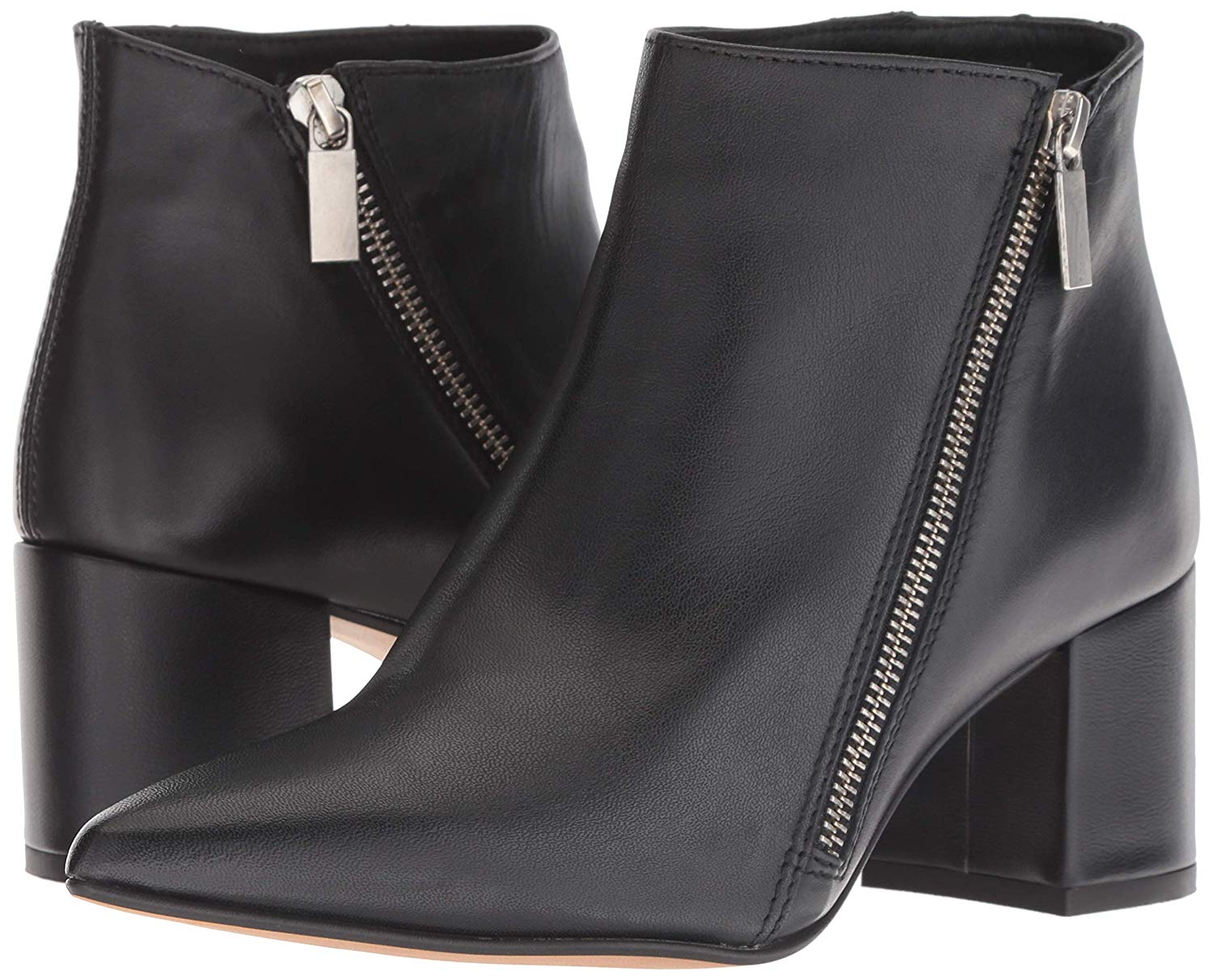 23443367f7ca7 Kenneth Cole Hayes Diagonal Side Zip Ankle Bootie Boot