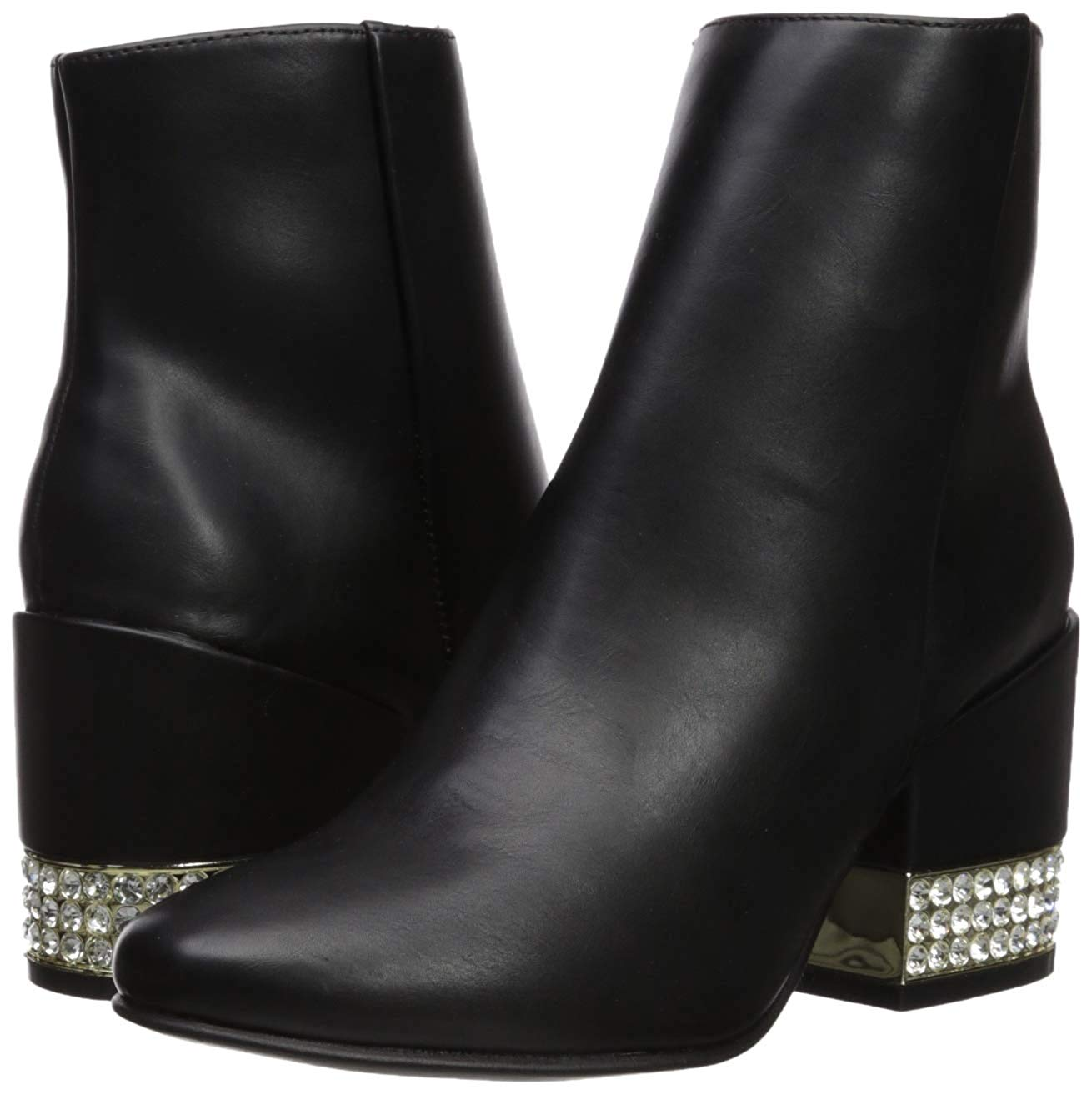 Madden Girl Ambrosee Ankle Boot Black Paris