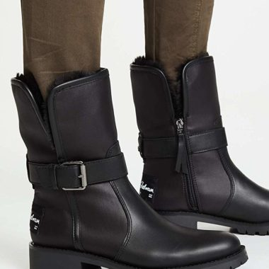 Sam Edelman Jeanie Chelsea Boot Black Leather