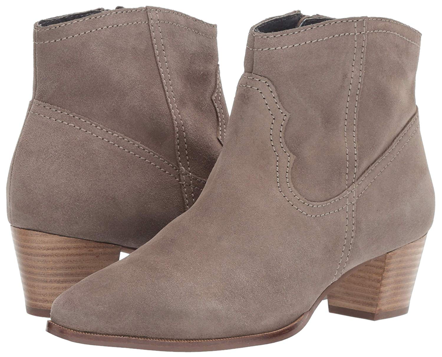Seychelles Represent Ankle Boot Taupe Suede