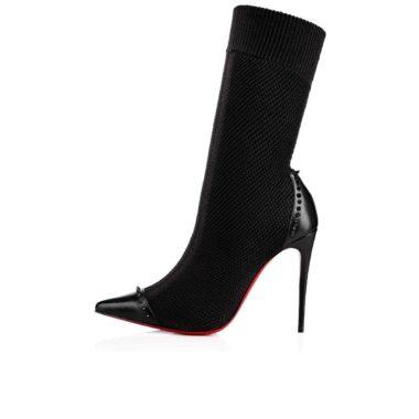 Christian Louboutin Dovi Dova Studded Sock Boots 01