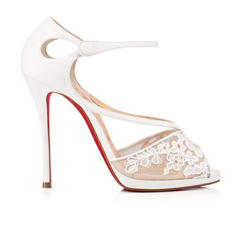 Christian Louboutin Luxury Fashion Leather Heels Sandal 01