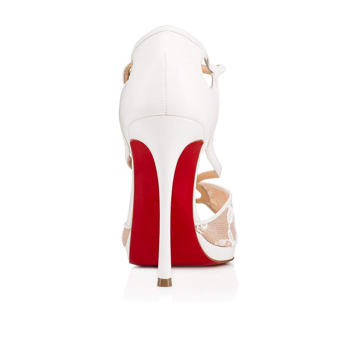 Christian Louboutin Luxury Fashion Leather Heels Sandal 03