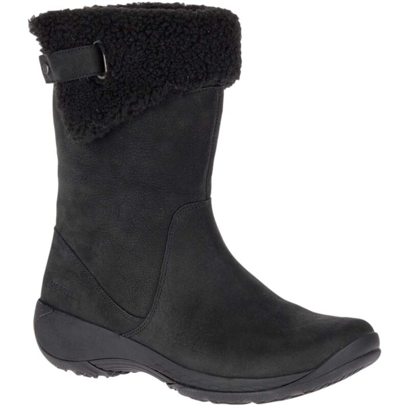 Merrell Encore Boot Q2 Fashion Mid Calf Boot Black