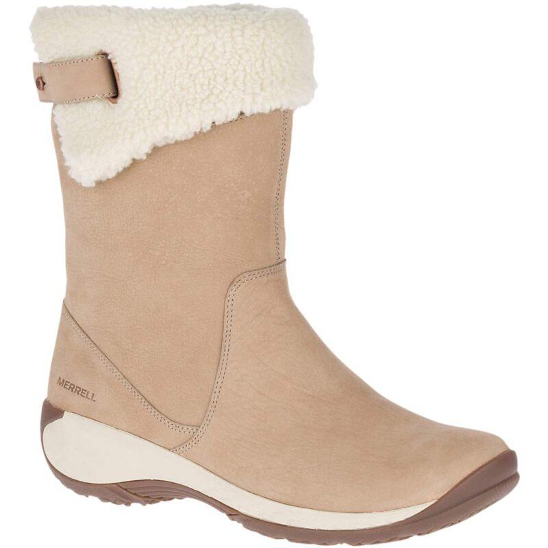 Merrell Encore Boot Q2 Fashion Mid Calf Boot Merrell Taupe