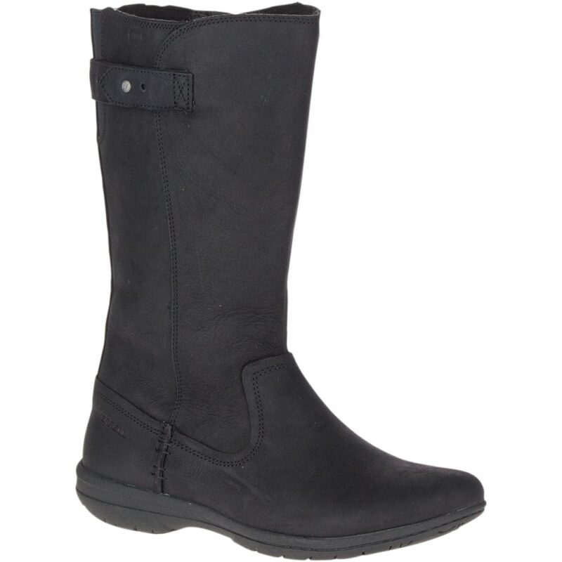 Merrell Encore Kassie Tall Waterproof Fashion Mid Calf Boot Black
