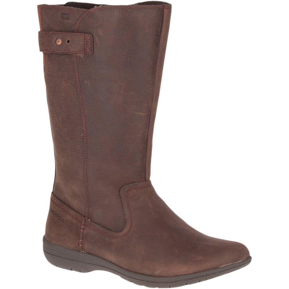 Merrell Encore Kassie Tall Waterproof Fashion Mid Calf Boot Brunette