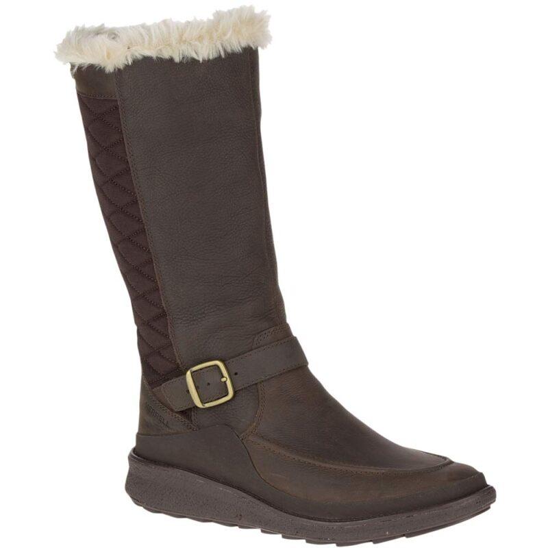 Merrell Tremblant Ezra Tall Polar Waterproof Knee High Boot Espresso