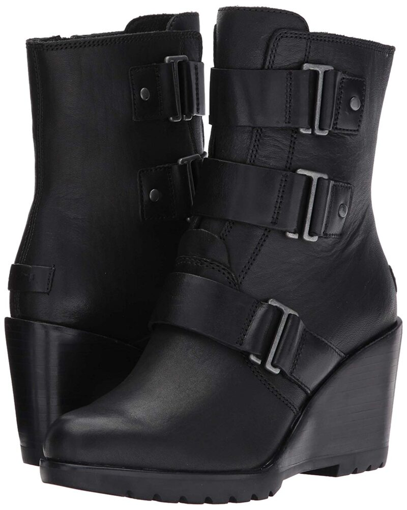 Sorel After Hours Bootie - Ankle Boots Black
