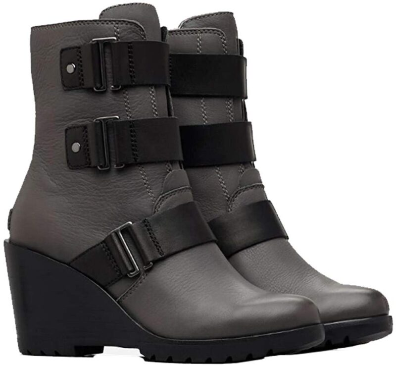 Sorel After Hours Bootie - Ankle Boots Quarry