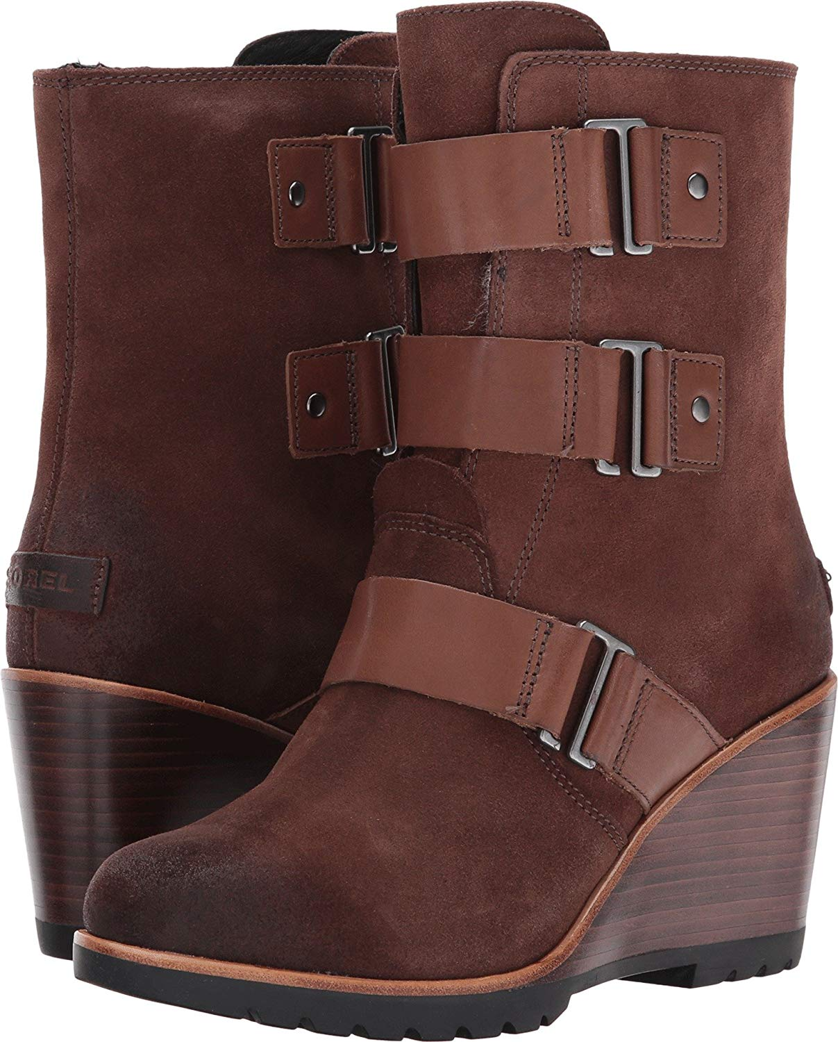 Sorel After Hours Bootie - Ankle Boots Tobacco