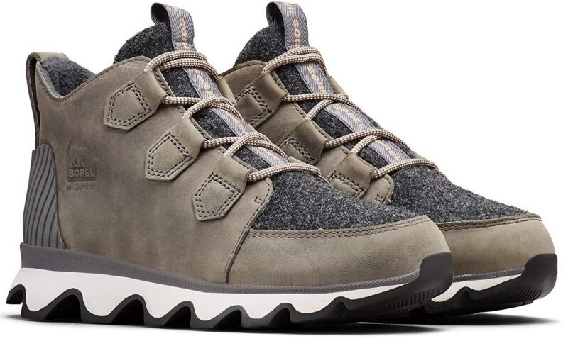 Sorel Kinetic Caribou Insulated Sneakers for Winter Quarry