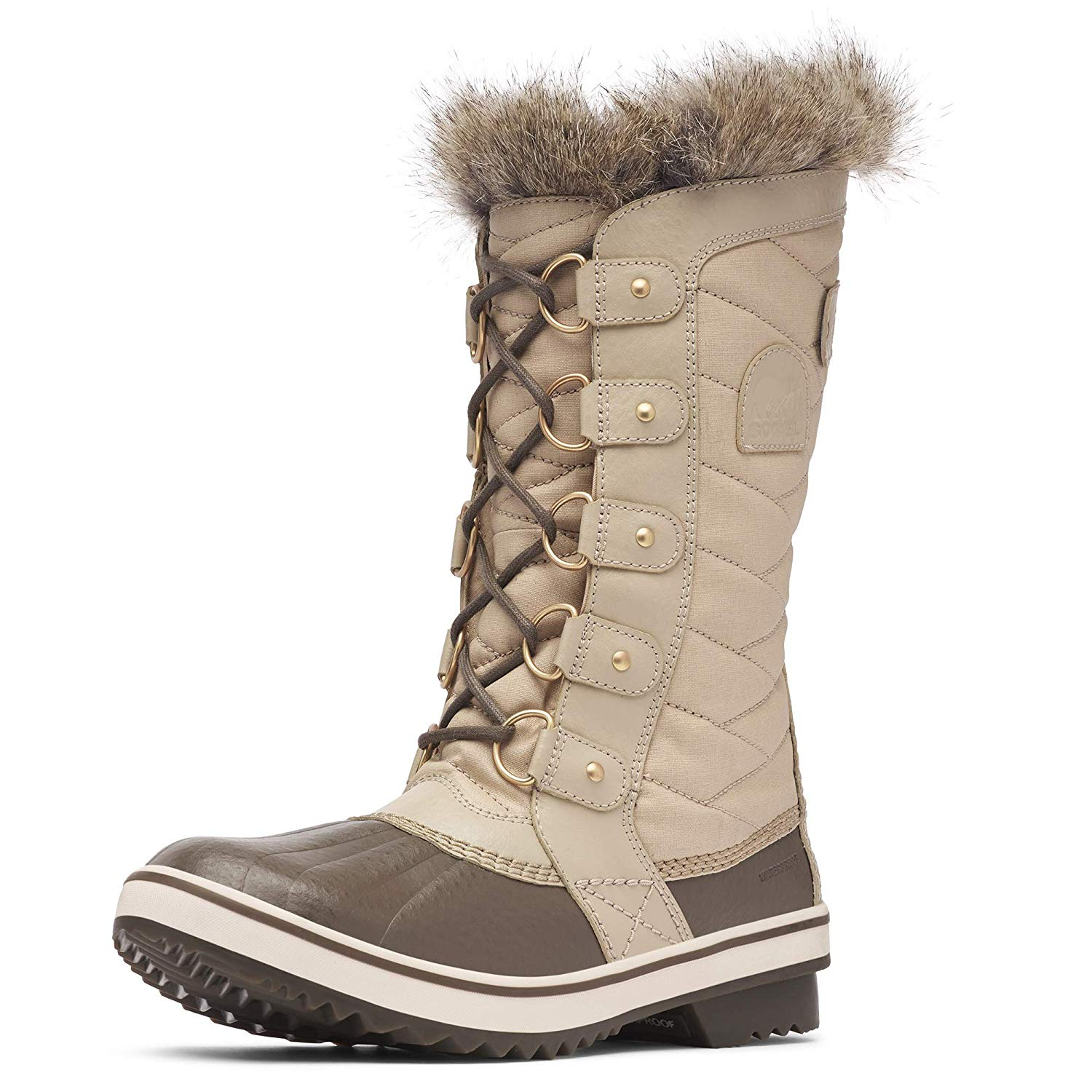 Sorel Tofino Ii Mid Calf Boot Ancient Fossil