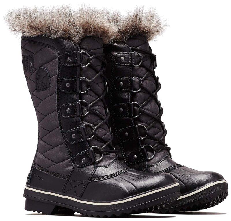 Sorel Tofino Ii Mid Calf Boot Black-Stone