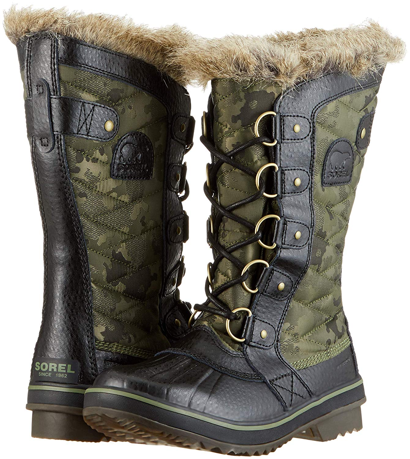 Sorel Tofino Ii Mid Calf Boot Camo-Hiker Green