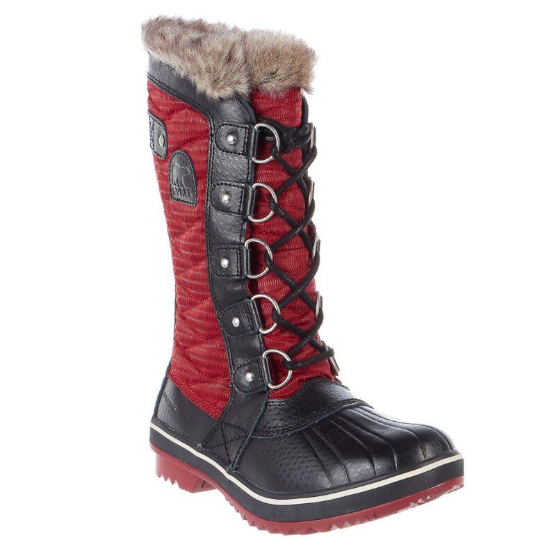 Sorel Tofino Ii Mid Calf Boot Red Element-Black